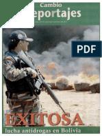 Lucha Antidroga en Bolivia 06-01-2013