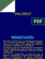 Valores en La Persona y La Organizacion 2008