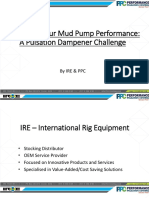 004 Mud Pump Performance
