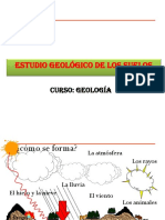 Estudio Geológico de Suelos