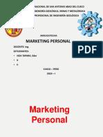 Marketing Personal Eder