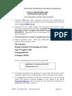 Information Brochure - Faculty Recruitment -2019 (2)