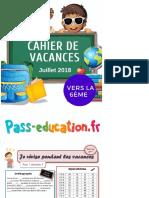Cahier de Vacances Gratuit à Imprimer - Cm2 Vers La 6ème - Juillet Pages 1 - 50 - Text Version _ FlipHTML5