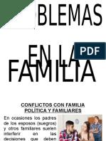 Conflictos Con La Familia