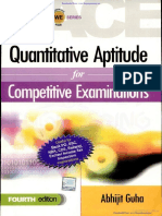Quantitative Aptitude for Competitive Examinations - Abhijit Gu- By EasyEngineering.net