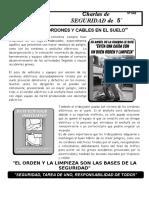 046-No Deje Cordones en El Suelo