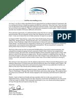 RVI Hanceville Letter