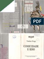 PROPP, Vladmir - Comicidade e riso.pdf