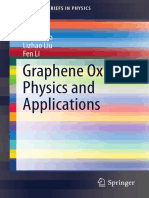 Graphene oxide physics and apllications