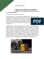 1.1 Scott - La Caida de Kodak No Fue Debido a La Tecnología