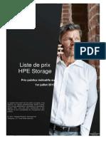 Liste de Prix Hpe Stockage Juillet 2019 (1)