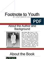 Footnote to Youth