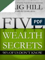Five Wealth Secrets 96% of Us D.pdf