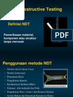 Non Destructive Testing (NDT) 1