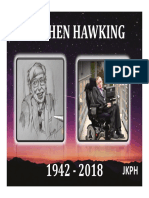 Stephen Hawking - Graphic Presentation