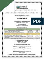 Ordem de Servi+ºo - JEPPB - 2016