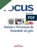 Focus - Manejo e Prevenção da ansiedade no gato