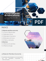 Sección II y III - Comercialización de hidrocarburos