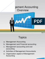 Management Accounting - Chapter 1