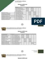Los Salones de La Facico y Grupos, 2019 B
