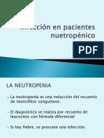 Infección en Pacientes Nuetropénico