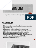 Lecture on Aluminum
