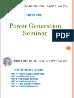 HTMT Power Generation Seminar