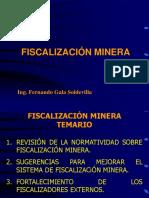 FISCALIZACIÓN MINERA - CIP