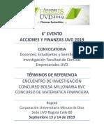 TDR Acciones Finanzas UVD 2019 v.8 10-07-19