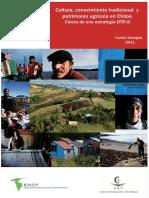 Cultura, Conocimiento Tradicional y Patrimonio Agrícola en Chiloé. Claves de Una Estrategia DTR-IC