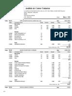 03.01 Analisis de Costos Unitarios COMPONENTE 01