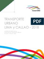 Situacion Del Transporte Urbano en Lima y Callao 2018 v.f