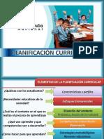 Introducciòn a La Planificacion Curricular