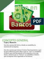 Efectivo Caja y Banco