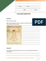 Portugues - Prova Bimestral Quotportugues Contemporaneo Dialogo Reflexao e Usoquot - 2o Bimestre 2018 2017 1089bf6a6be5b81bcc929422a003f03c