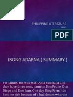 Philippine Literature Group 5