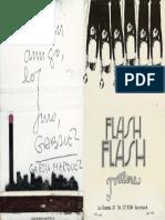 Caja de Cerillas Con Juramento de Amistad de Gabriel Garcia Marquez a Francisco Rabal