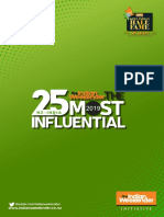 NZ-India The Top 25 Most Influential