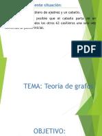 FORMATO DIAPOconferencia Teoría de Grafos ITF