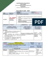 plan de clase Números racionales
