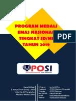 Proposal Program Medali Emas OSN Tingkat SD