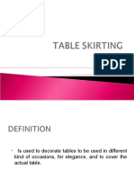 table skirting pdf