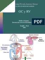 5 Gasto Cardiaco y Rv