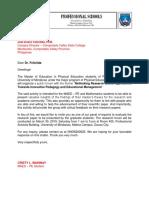 Letter for the Panel of Evaluators - Dr. Lamzon.docx