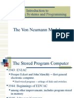 The Von Neumann Model Ch4