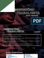 Indicadores Gerais Brasil 1 Trimestre 2019