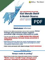 PELATIHAN JURNALISTIK BP2PAM