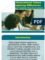Defining Generational Values
