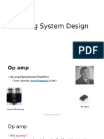 Analog system design-1