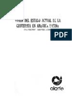 Geotermia en Latinoamerica